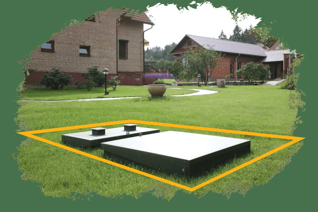 автономная канализация для частного дома на семью
