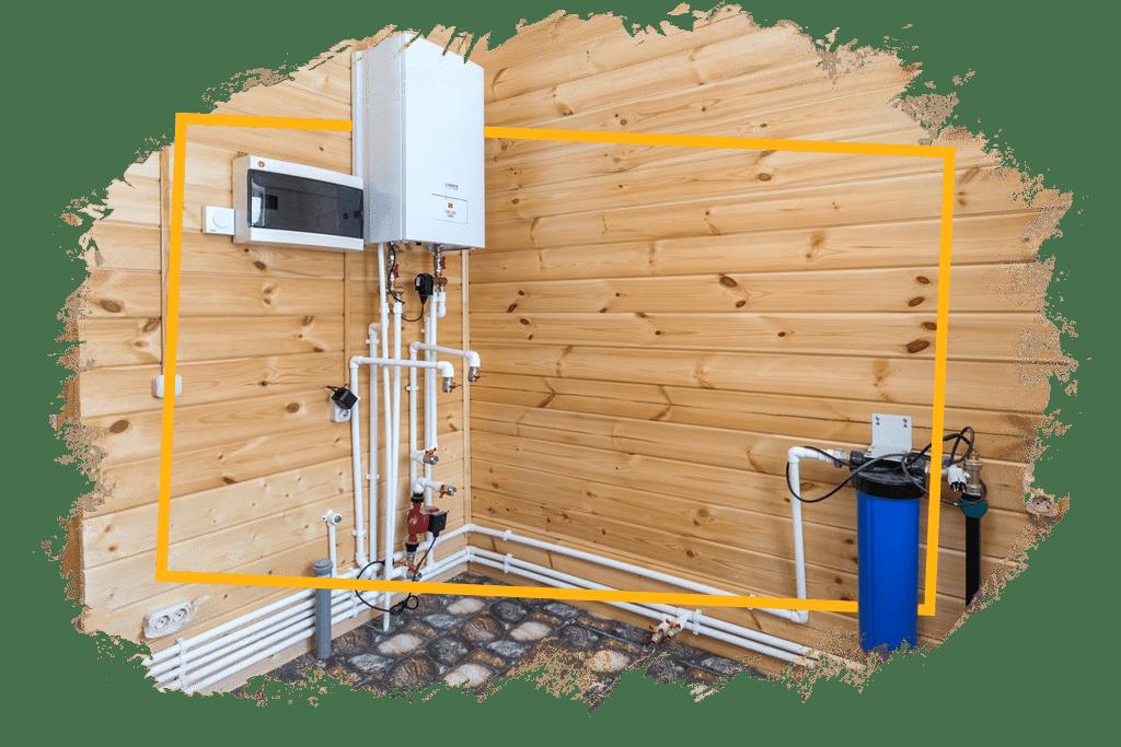 монтаж сантехники в доме для водоснабжения