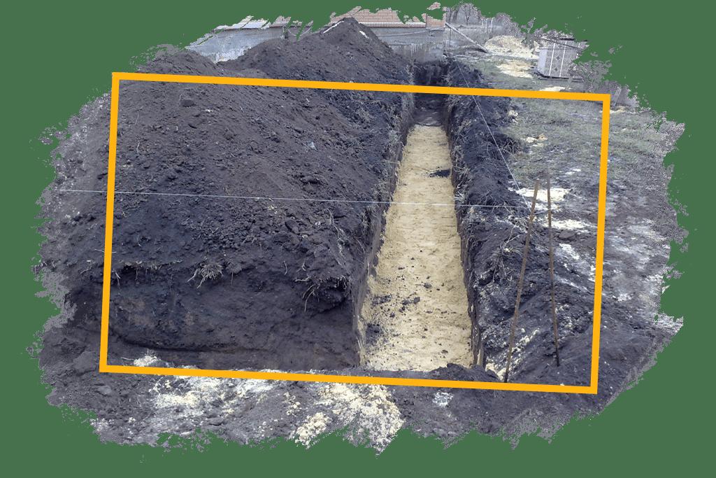 монтаж трубопровода в загородном доме для колодца